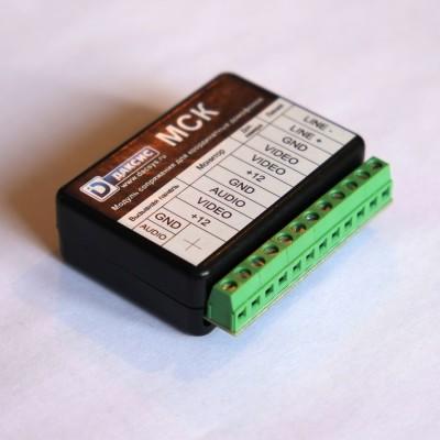 Домофоны (аудиодомофоны) МСК - Модуль сопряжения координатный Модуль сопряжения индивидуального видеодомофона с...